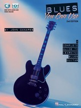 Blues You Can Use ~ Guitar Sheet Music TAB Method Book by John Ganapes HL - $18.32