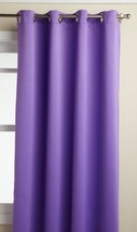 LORRAINE HOME FASHIONS Carnivale 53-inch x 63-inch Blackout Panel, Purple - $19.82