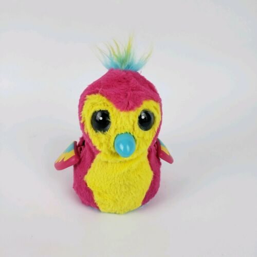 Hatchimals Penguala Interactive Pet Bird Pink Yellow Works hatched
