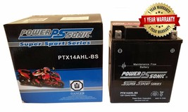 1985 YAMAHA XJ700X Motorcycle AGM Motorcycle Battery One Year Warranty YTX14AHL- - $50.99