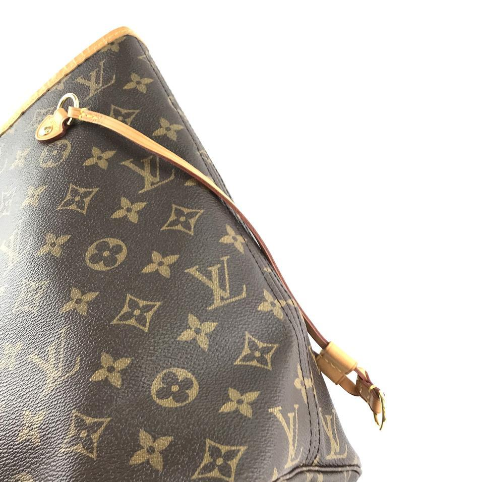 #33306 Louis Vuitton Neverfull Neo New Model Mm Tote Everyday Work Shoulder Bag image 9