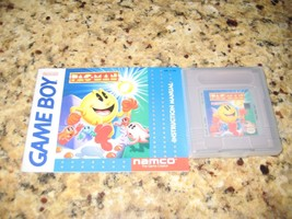 Pac-Man Nintendo Game Boy & Instruction Manual. - $13.85