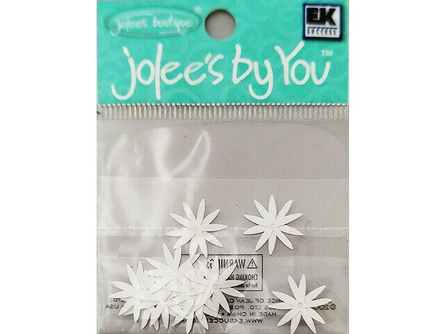 Jolee's by You White Echinacea Flower Embellishments #JJAAO057A