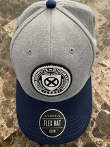 X-Men Xavier Institute For Higher Learning Flex-Fit Hat Marvel Rare - $24.74