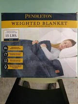 """Pendleton Glass Beads Weighted Blanket 48""""x72"""" Anxiety Stress Relief 15 ... - $59.03"""