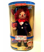 Raggedy Andy Porcelain Doll 85th Anniversary Brass Key Keepsakes 14 inch... - $35.64