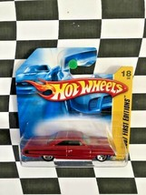 Hot Wheels 2007 New Models First Edition 018 1964 Ford Galaxie 500XL Red... - $7.91