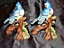 Bird Figurines AA18-1233 Vintage Pair image 2