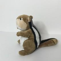 "Ganz Webkinz Chipmunk HM217 Plush Stuffed Animal Beanie 8"" Tall Sitting ... - $13.74"