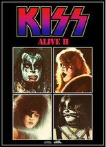 KISS Rock Band ALIVE II Promo Stand-Up Display # 2 Reproduction Stand-Up... - $16.99