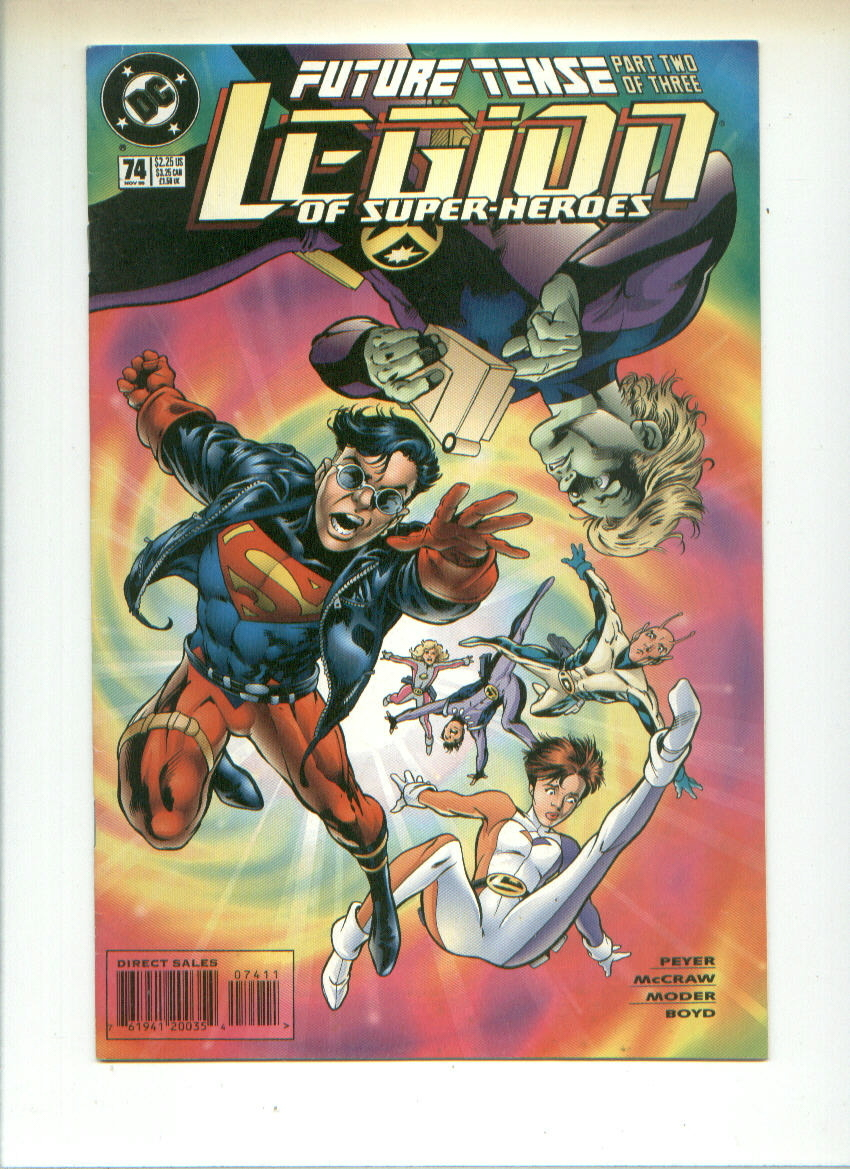 DC comic book lot KARATE KID + Legion of Super-Heroes/Legionnaires