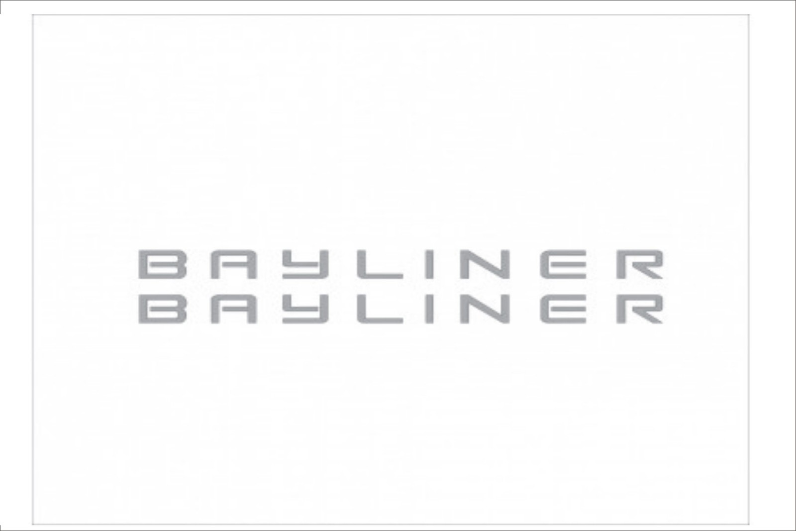 BAYLINER - Boat decal set, reproduction and 50 similar items