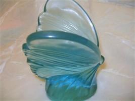 Fenton Art Glass Blue Butterfly   - $58.04