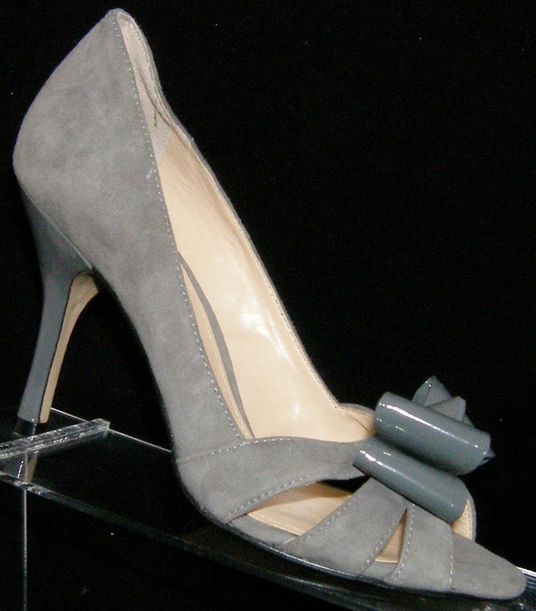 e25c800403 Enzo Angiolini  Molinia  gray suede peep toe and 50 similar items