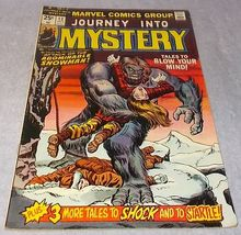 Marvel Bronze Age Comic Book Journey into Mystery 1974 No 13 FN to VFN - $12.95