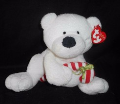 Ty Pluffies 2005 Bianco Candy Canna Polar Orsacchiotto Peluche Peluche Morbido - $17.59