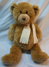 "TY Borders Exclusive CHAUCER TEDDY BEAR W/ SCARF 15"" Plush STUFFED ANIMA... - $19.80"