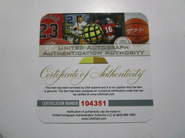 STEPHEN CURRY / GOLDEN STATE WARRIORS / AUTOGRAPHED FULL SIZE NBA BASKETBALL COA image 6
