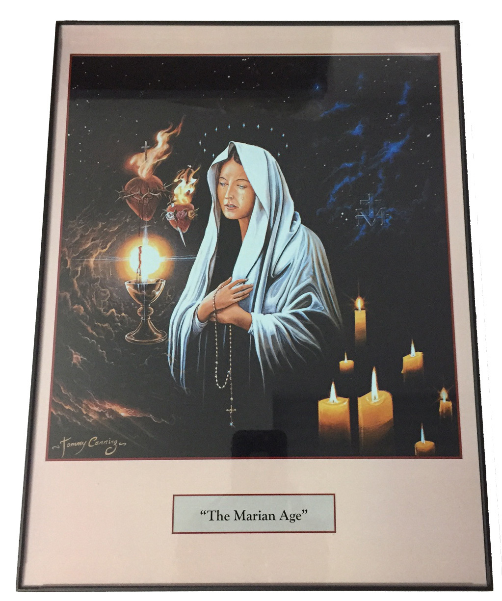 The marian age   print framed by tommy canning