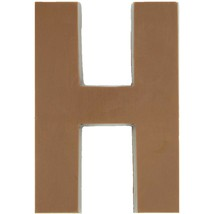 Philadelphia Candies Solid Milk Chocolate Alphabet Letter H, 1.75 Ounce Gift - $6.92