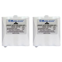 Midland AVP8 2-Way Radio Accessory (2 pk of GMRS Batteries for 200 & 300... - $34.73