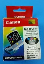 Genuine Canon BCI-11 Color Ink Cartridges (3 Pack, Sealed Foil) - $6.48