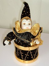 VTG San Francisco Music Box Co Jester Deva Goddess of the Moon 1992 Mard... - $19.99