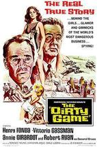 The Dirty Game - 1966 - Movie Poster - $9.99+