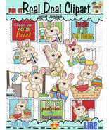 Fluffy Dust Bunny Clip Art - $1.25