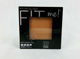 Maybelline Fit Me Pressed Powder 355 Coconut Normal To Dry Set + Smooth - $4.95