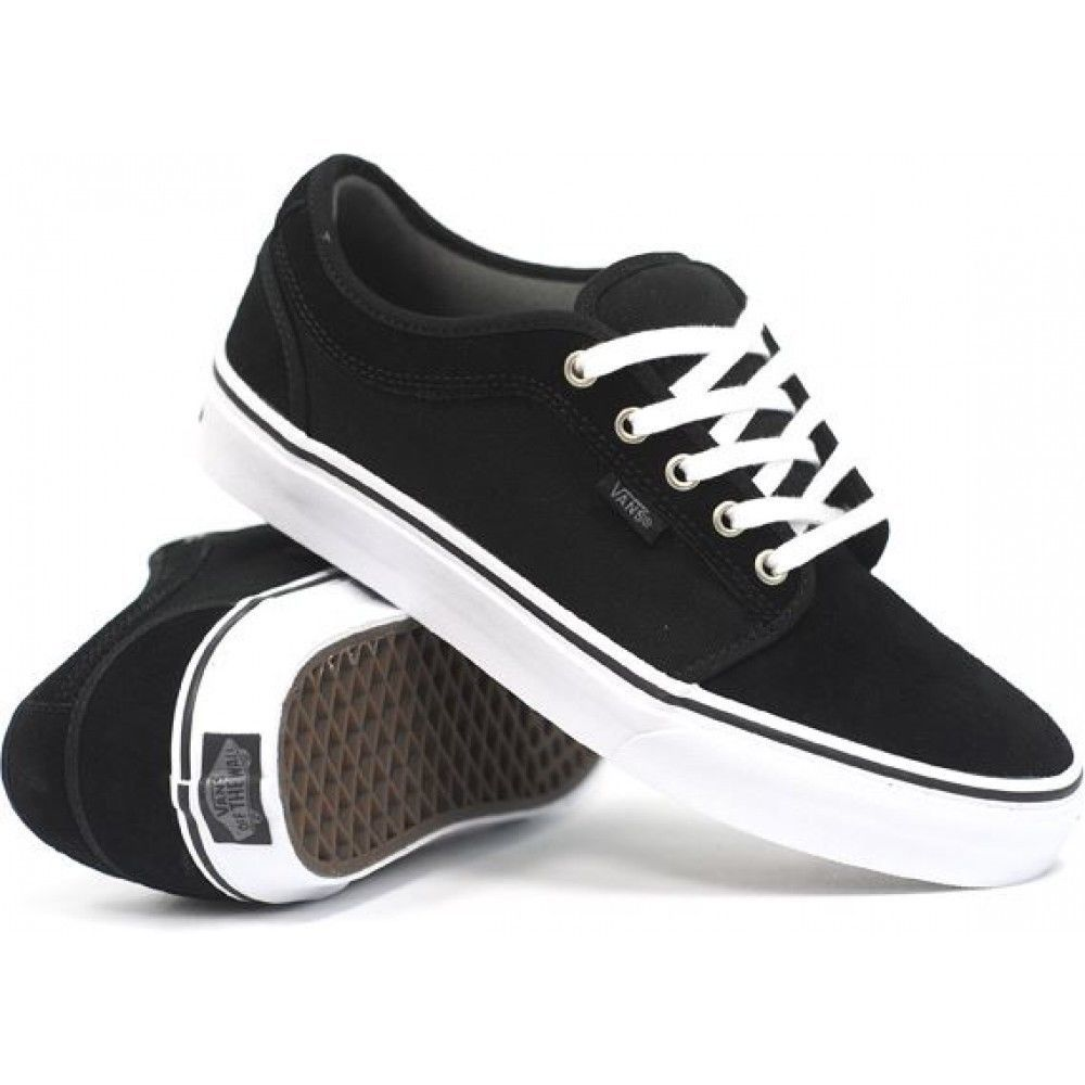 452602d5bf0e37 Vans Chukka Low Black Pewter White Sz Size and 47 similar items