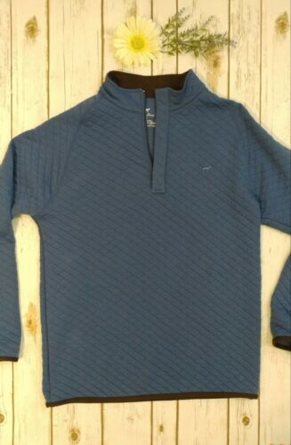 Mens Southern Point Quilted Pullover