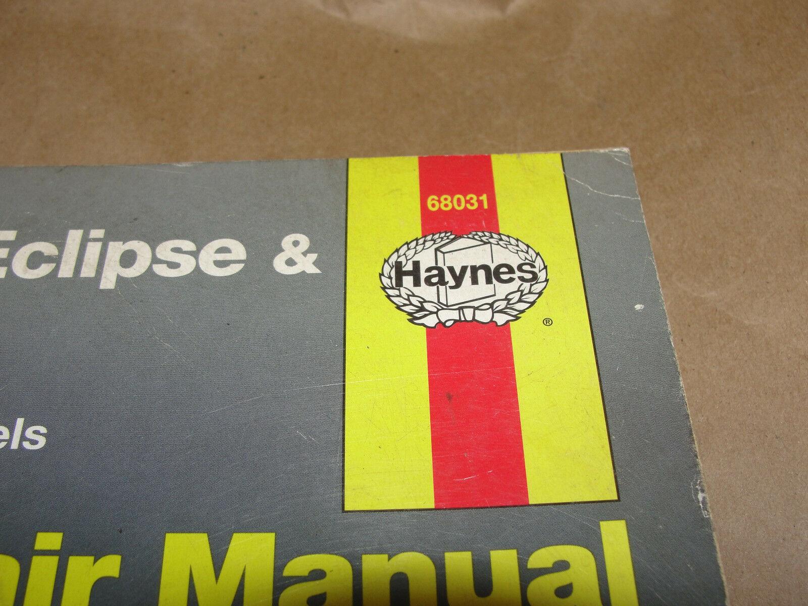 HAYNES 1995-2001 MITSUBISHI ECLIPSE & EAGLE TALON REPAIR MANUAL 68031