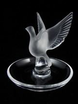 Vintage Lalique Thalie Bird Pin~Ring Tray~Signed~Perfect~Last One~Amazin... - $199.99