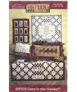 Fiber Mosaics Cats in the Garden Pattern Quilting Embroidery Feline Freinds - $6.99