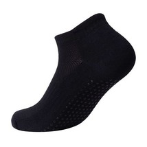 Women Professional Yoga Socks Anti Slip Rubber Dots Sports Indoor Exerci... - $7.60