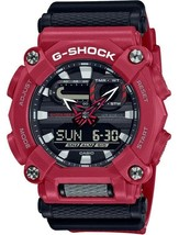 New Casio G-Shock Red Resin Strap Men's Watch GA900-4A - $89.95
