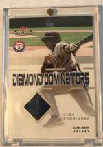 2003 ALEX RODRIGUEZ /75 Used Jersey FLEER MYSTIQUE DIAMOND DOMINATORS GAME - $9.50