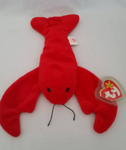 Ty Beanie Babies Pinchers Lobster Pvc Pellets Style # Rare Errors Retired - $39.99