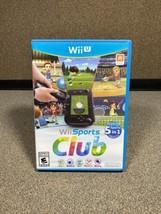 Wii Sports Club (Nintendo Wii U, 2014) Complete Cib [Tested Working] - Great! - $46.74