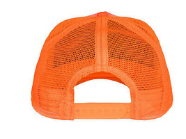 Goorin Bros Snapback Mesh Cap Animal Farm Orange Black Panther Trucker Hat image 2