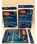 3 Sears Kenmore Type C Canister Vacuum Bags 5055, 50557 50558 By EnviroCare - $17.95