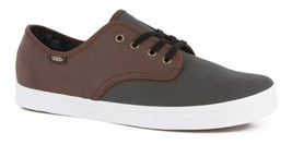 Vans Madero (C&L) Magnet/Leather Casual Skate Men's 7 Women's 8.5 - $47.95