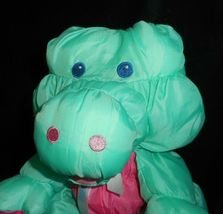 Vintage 1993 Puffalump Fisher Price Verde Caimán Peluche Plush Toy image 3