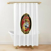 USMC Sikorsky Ch-53 Helicopter Commemorative Shower Curtain - $98.99