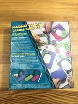 Vintage New Sealed Crayola Craft Magnet Frame Model Magic Picture Frame Art - $39.60