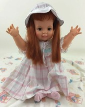 "Baby Crissy Large 24"" Red Growing Hair Chrissy 1st Release Ideal Vintage... - $151.42"
