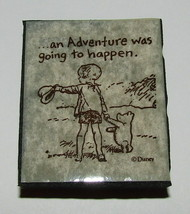 An Adventure Was Going To Happen Rubber Stamp Classic Pooh Christopher Robin  - $9.89