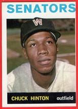 1964 Topps #52 Chuck Hinton baseball card - $0.01