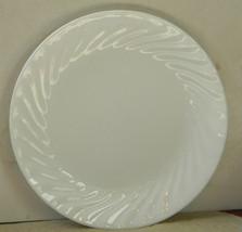 "Corelle Corning Ware ENHANCEMENTS White Swirl 8 3/8"" Salad Plates - Lot ... - $14.00"